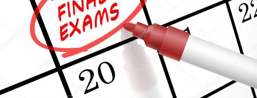 Πρόγραμμα Τελικών Εξετάσεων 2019Β
